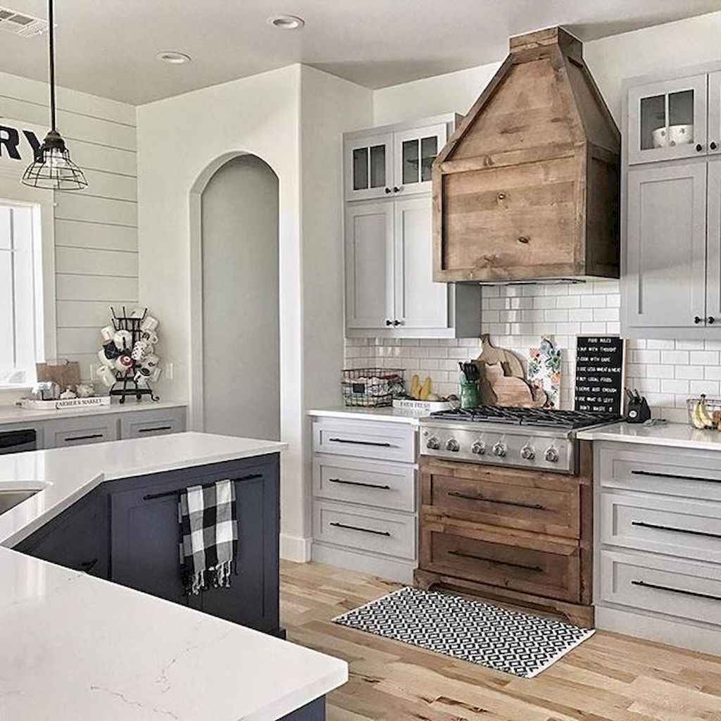 100 Stunning Farmhouse Kitchen Ideas On A Budget 22 Coachdecorcom