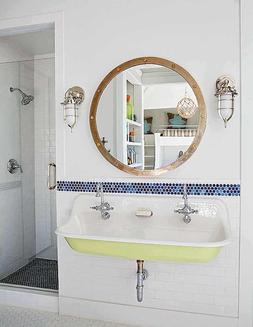 30 Amazing Coastal Nautical Bathroom Remodel Ideas 9