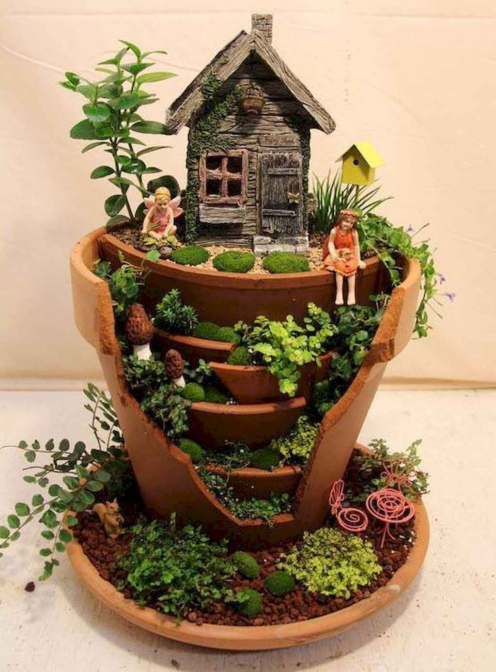 50 easy diy fairy garden design ideas 1 for 50s garden design