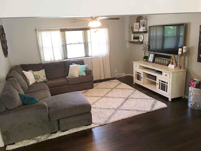 60 modern farmhouse living room first apartment ideas 37 for First apartment living room ideas