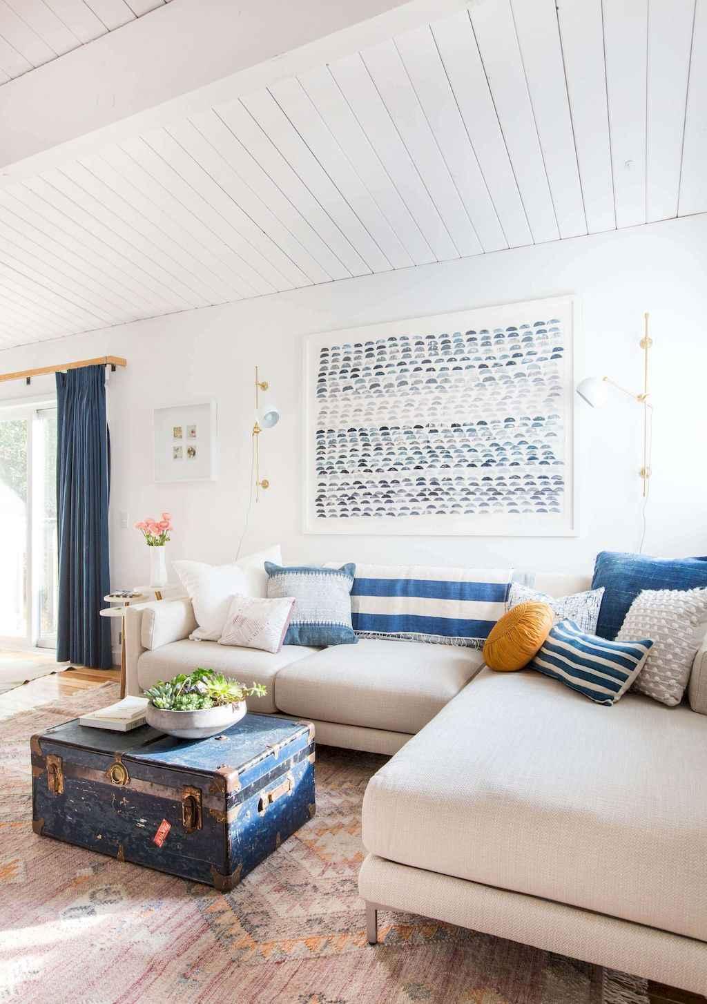 60 modern farmhouse living room first apartment ideas 57 for First apartment living room ideas