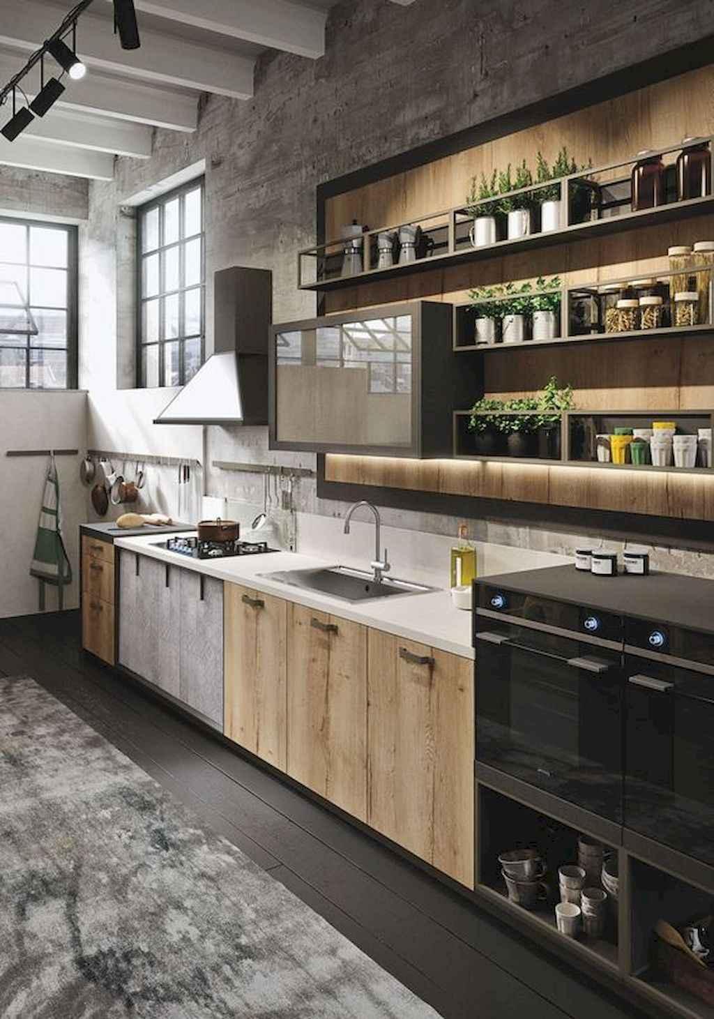 120 modern rustic farmhouse kitchen decor ideas 70 for 70s kitchen ideas