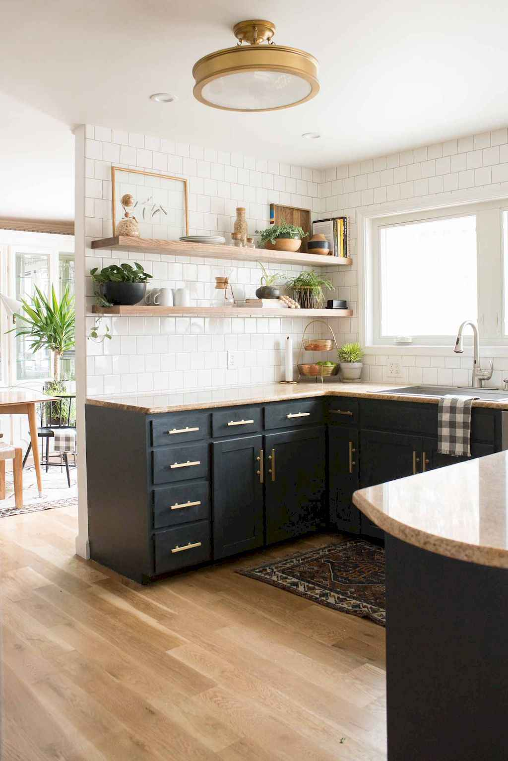 60 Black Kitchen Cabinets Design Ideas (53)