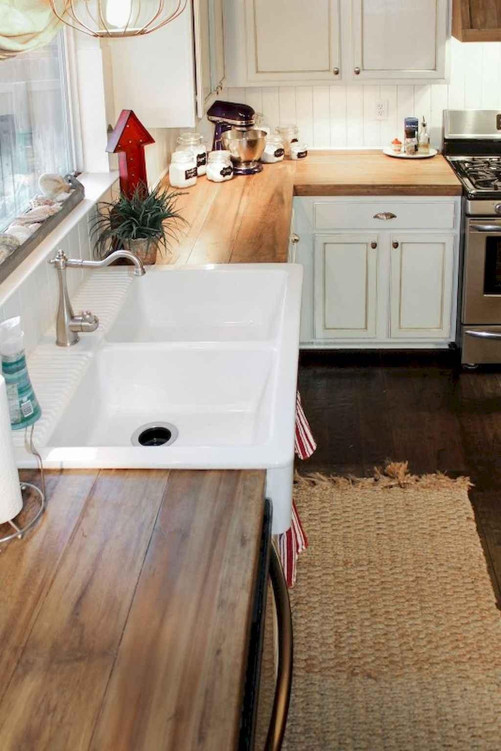 70 Pretty Kitchen Sink Decor Ideas (63)