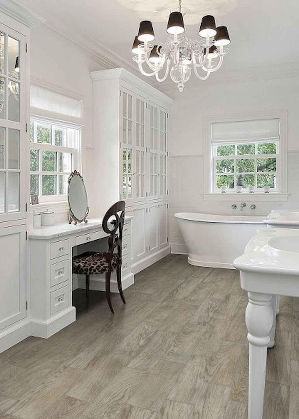 150 awesome farmhouse bathroom tile floor decor ideas and for Farmhouse bathroom tile design ideas