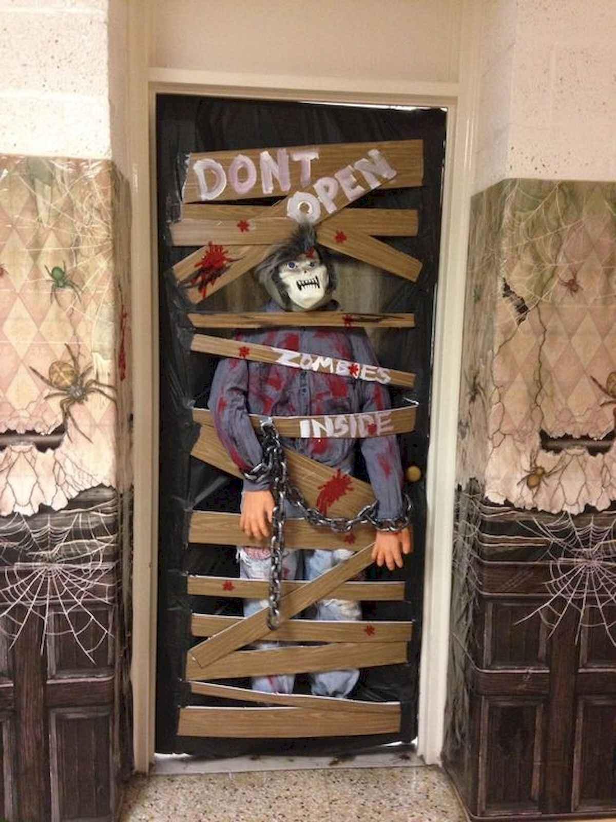 25 Creative Halloween Door Decorations for 2018 11