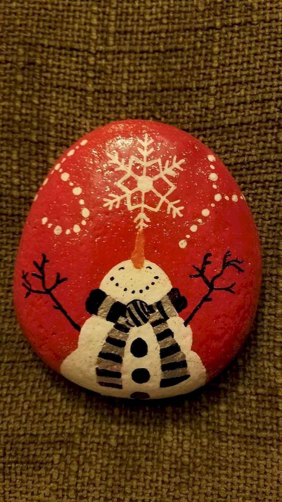 50 Easy Diy Christmas Painted Rock Design Ideas 37 Coachdecor Com