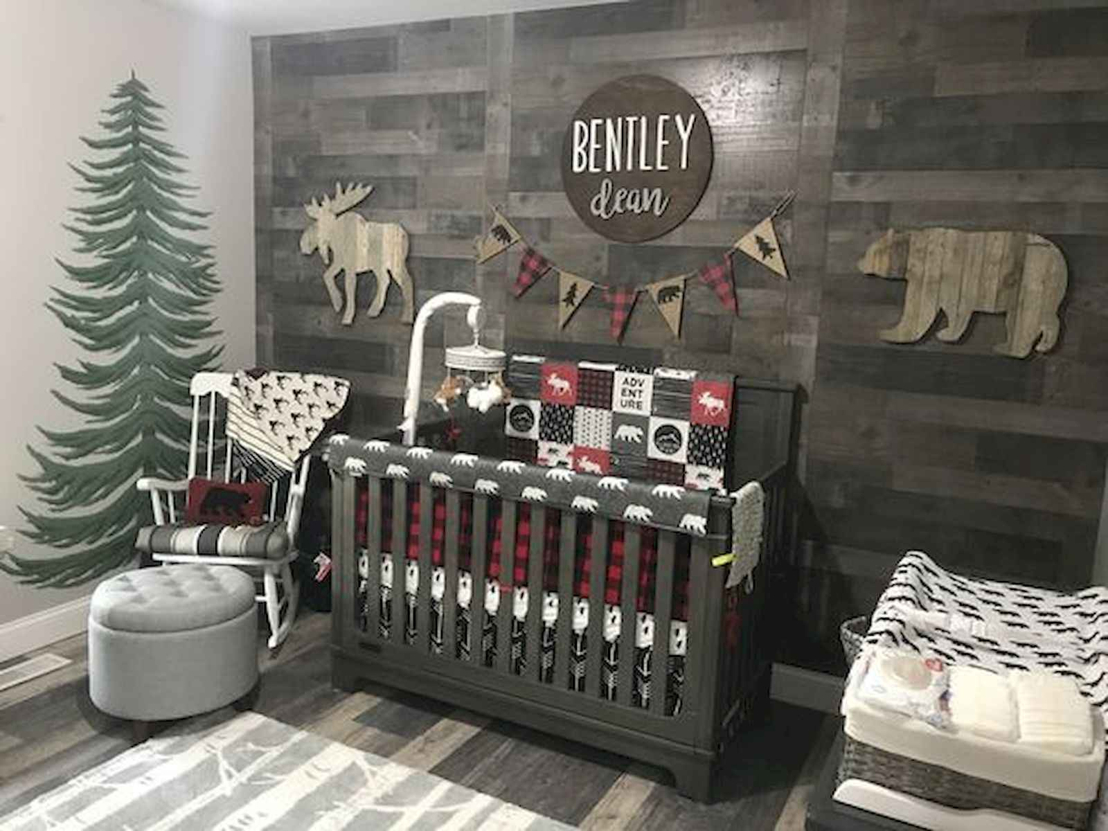 30 Adorable Rustic Nursery Room Ideas