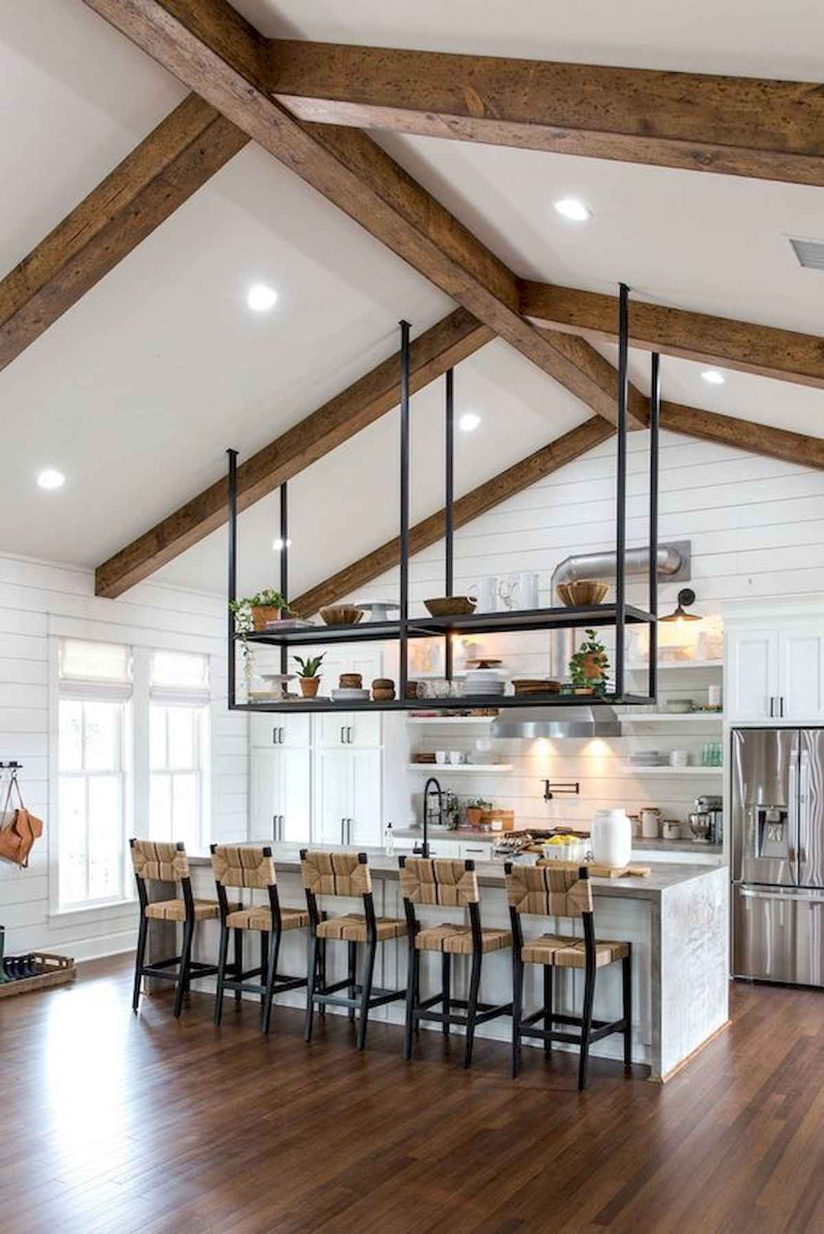 25 Best Fixer Upper Farmhouse kitchen Design Ideas (17)
