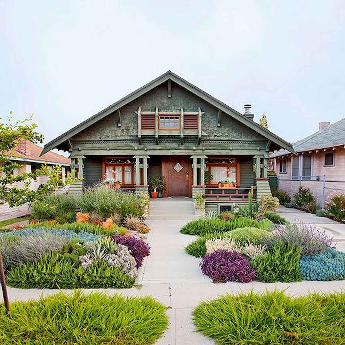 40 Cool Front Yard Garden Landscaping Design Ideas And Remodel 1