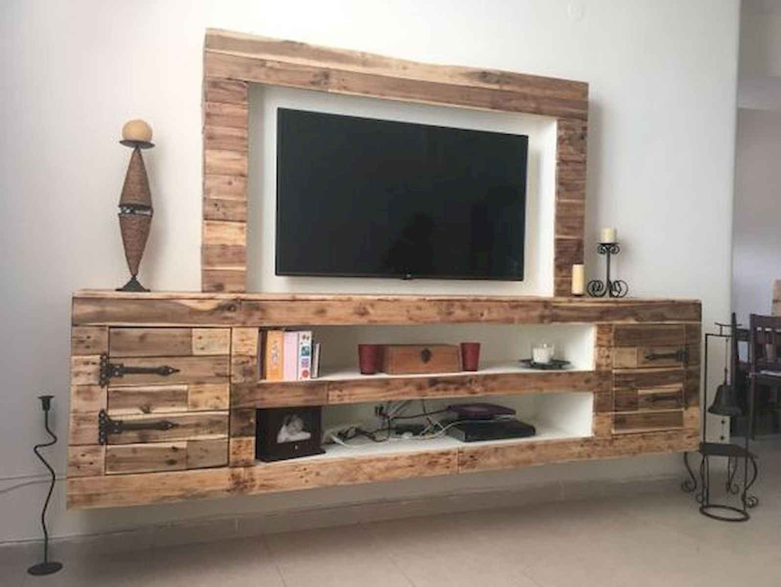 50 Favorite DIY Projects Pallet TV Stand Plans Design Ideas (13)