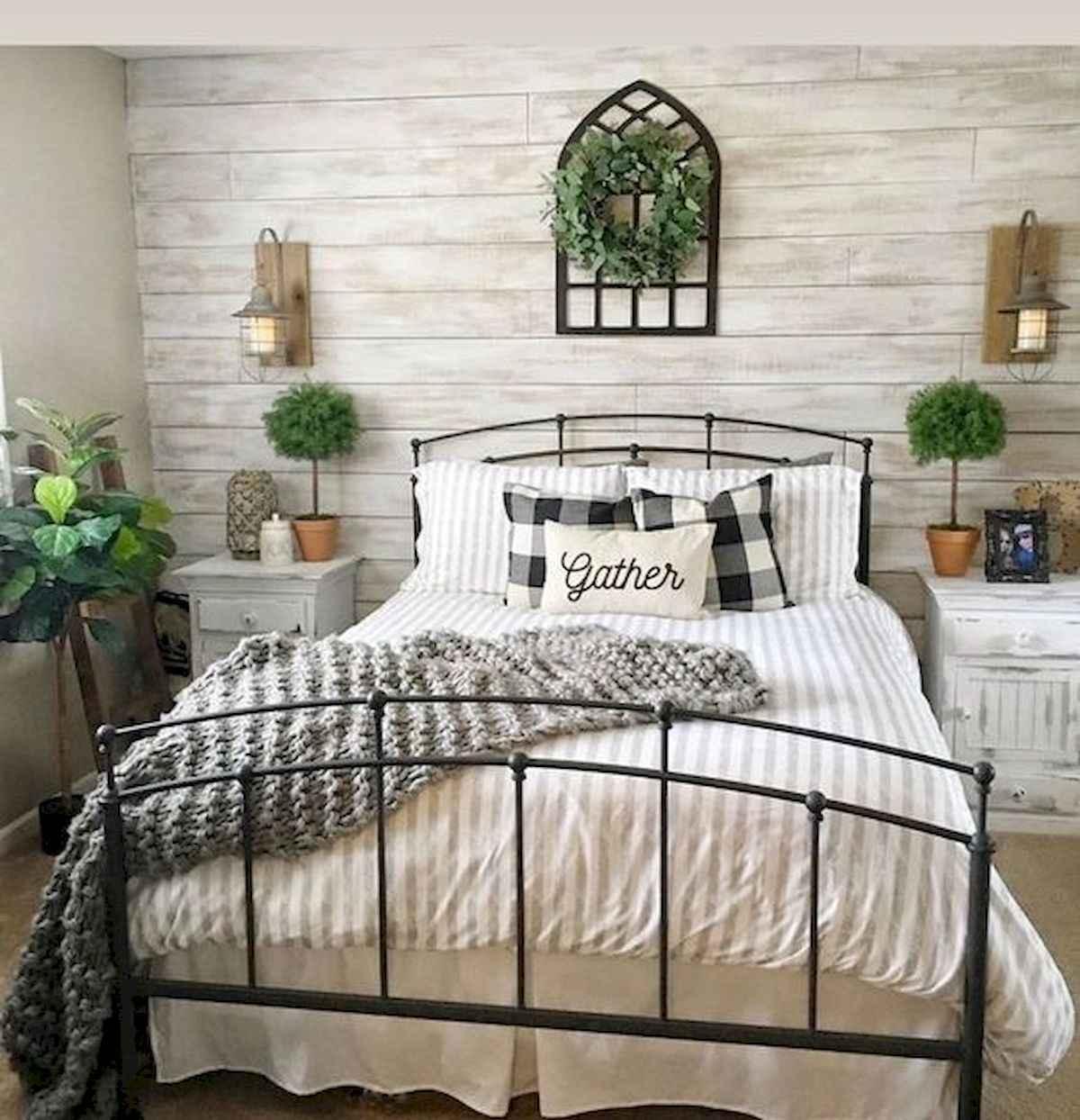 60 Adorable Modern Farmhouse Bedroom Design Ideas And Decor 43