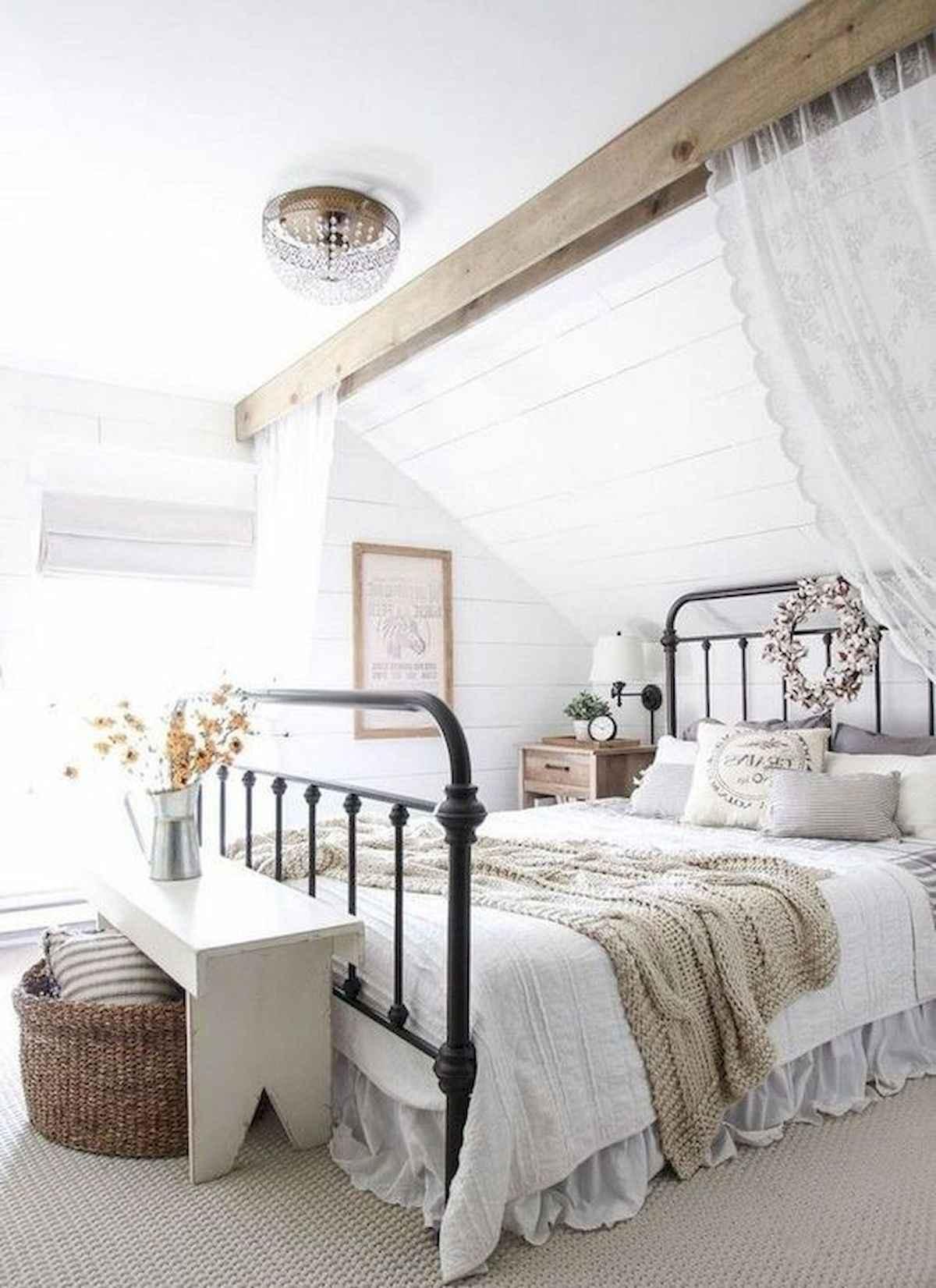 60 Adorable Modern Farmhouse Bedroom Design Ideas And Decor 49