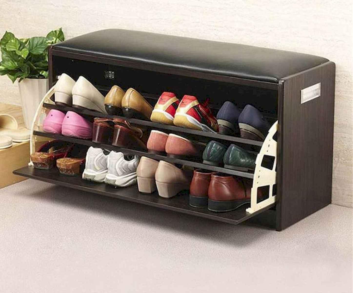 55 Genius Shoes Rack Design Ideas (10)